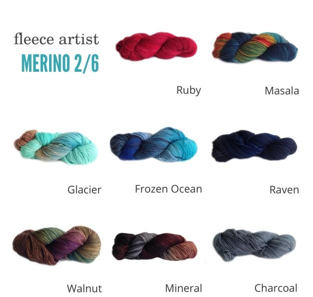 Fleece Artist Merino 2:6 MULTI