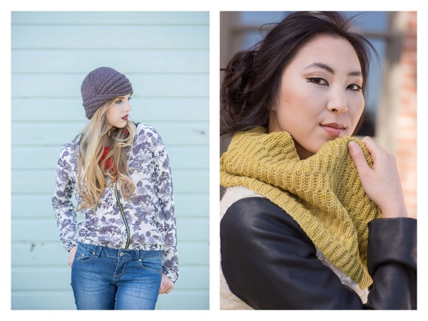 knitscene 2015 fall hat cowl