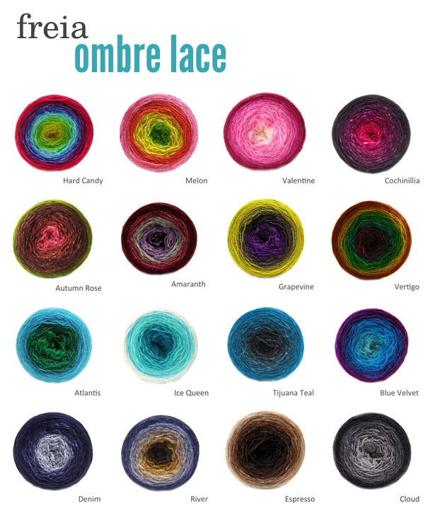 Freia Lace Ombre Combo Aug 9