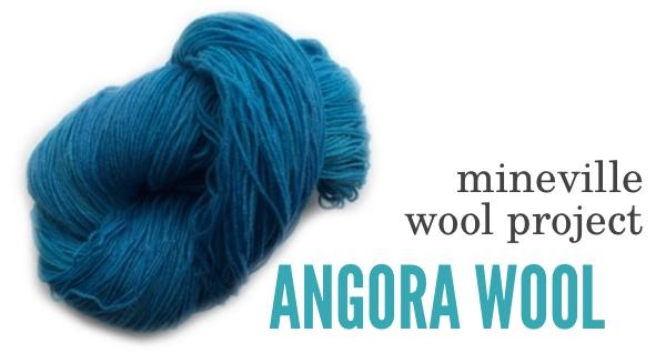 Mineville Angora Wool BLOG