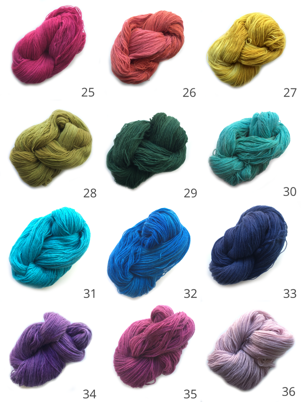 Mineville Angora Wool BLOG New Colours