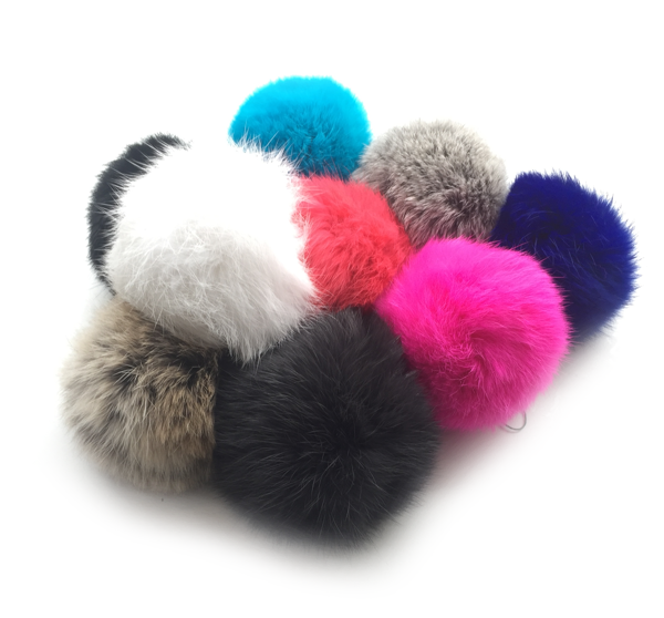Rabbit Fur Pompoms BLOG 2
