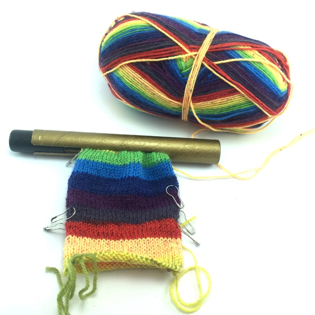 Knit Hack DPN Tube