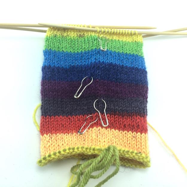 Knit Hack Stitch Markers