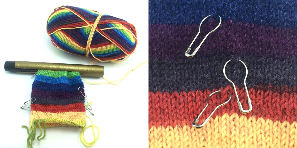 Knit Hack Tube Markers Combo
