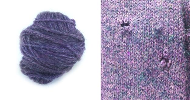 Moth Holes  Extra Yarn combo BLOG