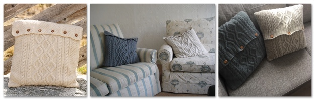 Cabled Cushion Cover COMBO