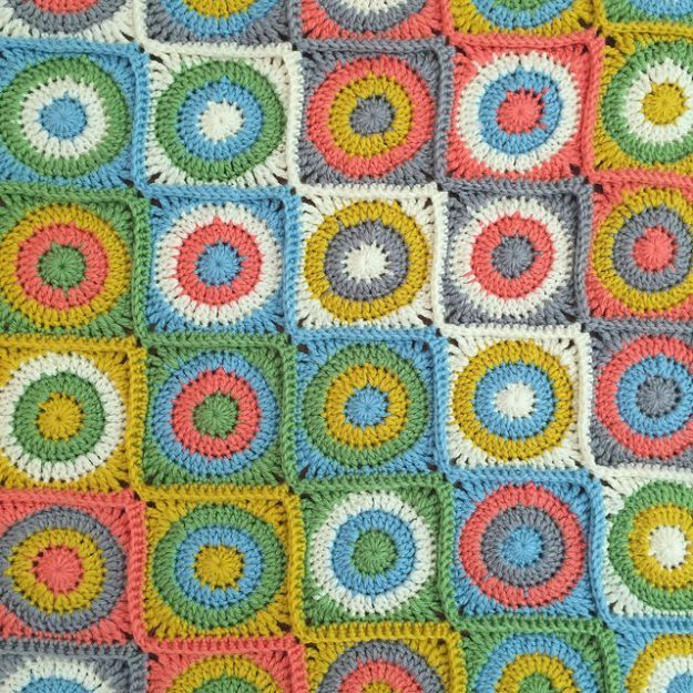 avalon dots baby blanket 2