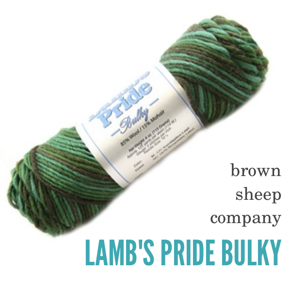 Brown Sheep Co Lambs Pride BULKY BLOG