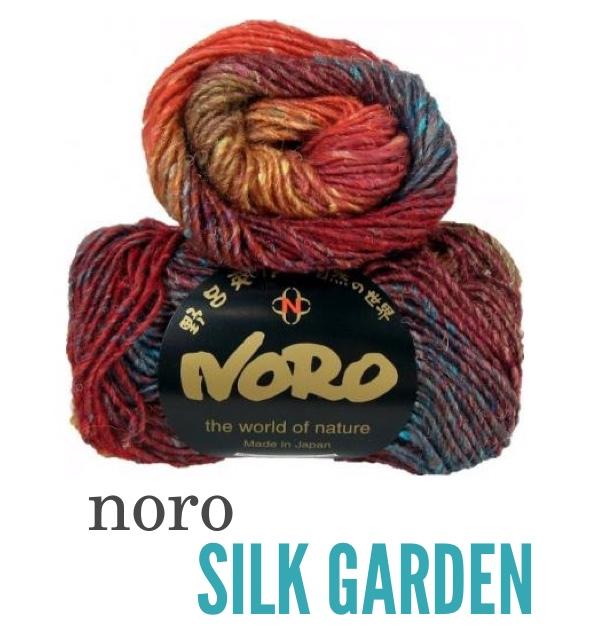 Noro Silk Garden DISPLAY BLOG