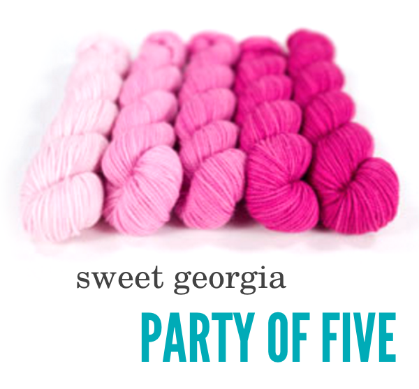 Sweet Georgia Party of Five DISPLAY BLOG