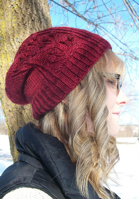cranberry-slouch-hat-1