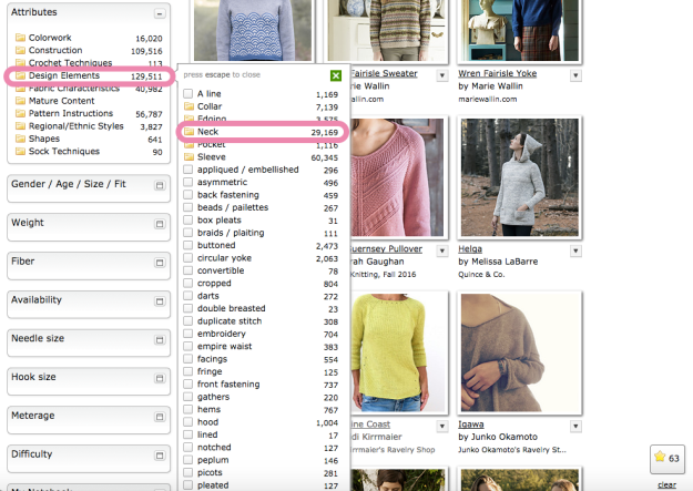 Hack Search Ravelry Patterns 12