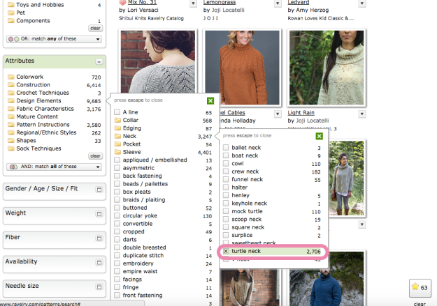 Hack Search Ravelry Patterns 13