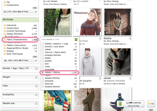 Hack Search Ravelry Patterns 14