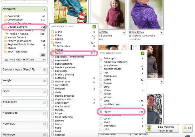 Hack Search Ravelry Patterns 15