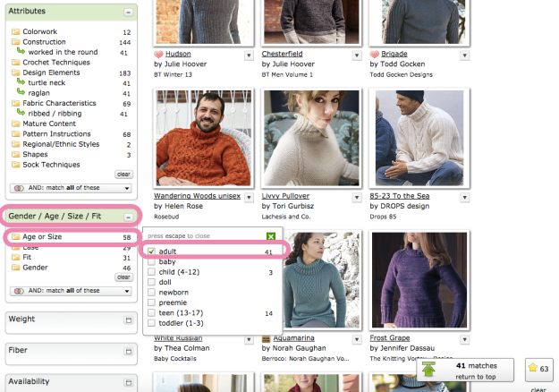 Hack Search Ravelry Patterns 17