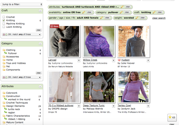 Hack Search Ravelry Patterns 21