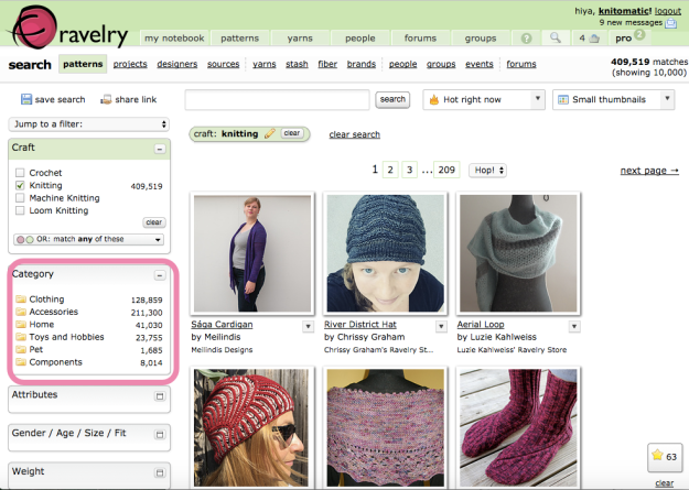Hack Search Ravelry Patterns 7