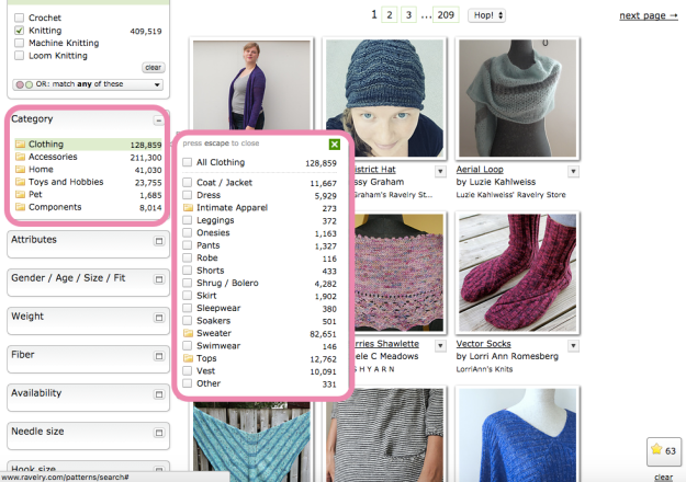 Hack Search Ravelry Patterns 8
