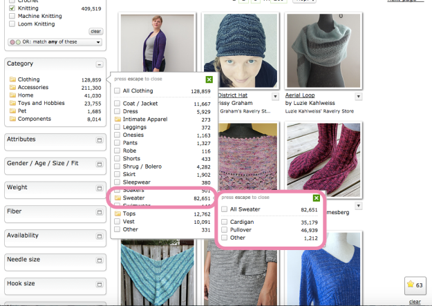 Hack Search Ravelry Patterns 9