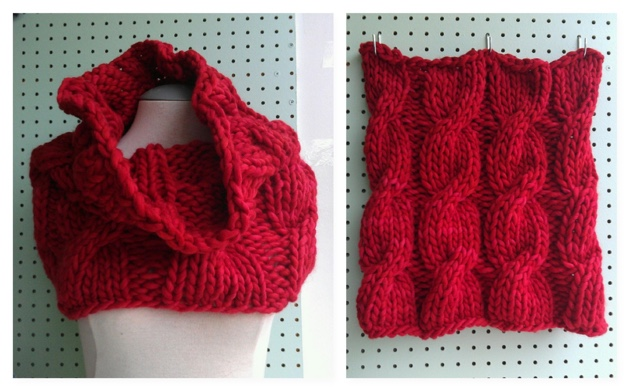 loose cabled cowl rasta COMBO.jpg