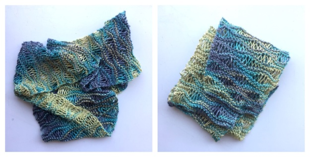 handmaiden silken wavy scarf COMBO 2