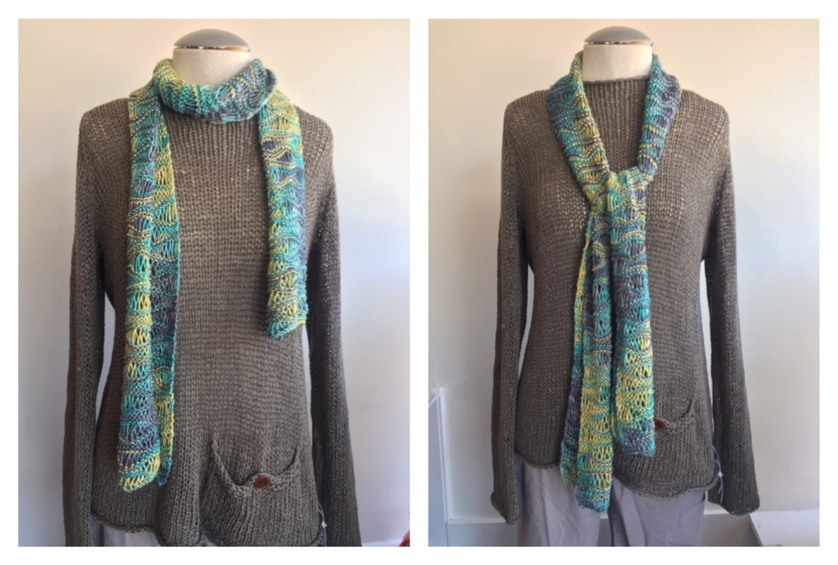 handmaiden silken wavy scarf COMBO 4