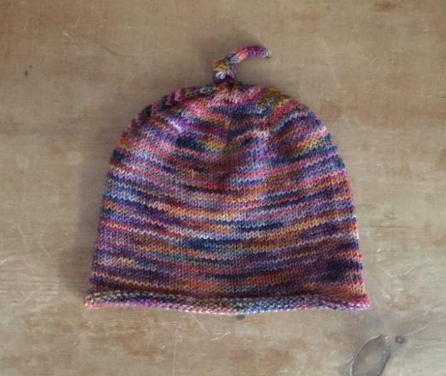 Koigu KPPPM Baby Hat Pink 1