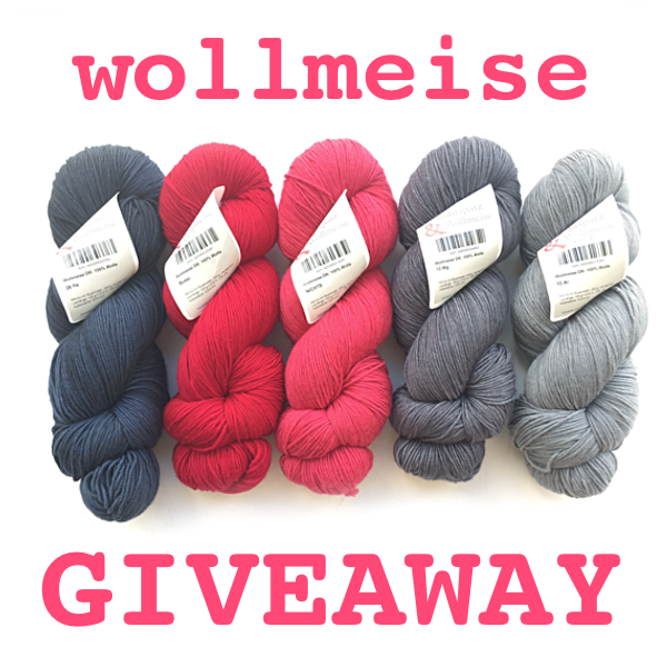 Giveaway Wollmeise Red PNG