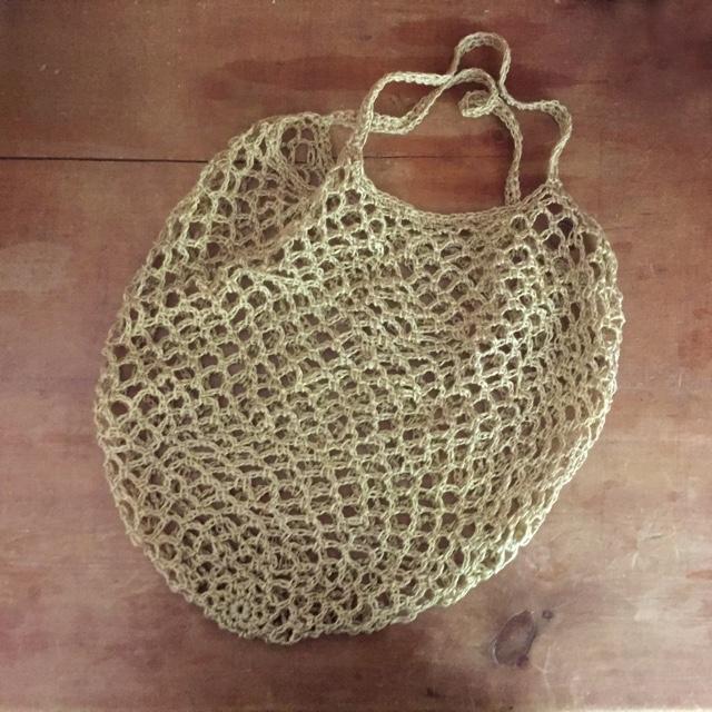 Quince Sparrow Crochet Market Bag 2