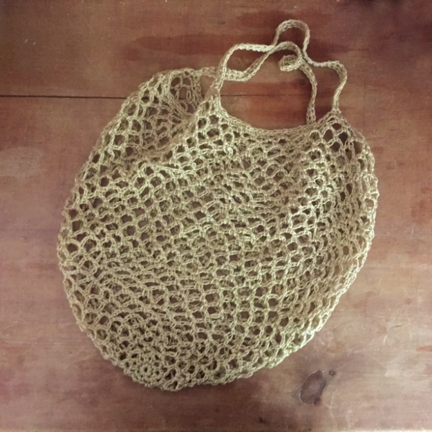Quince Sparrow Crochet Market Bag 2