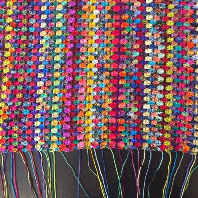 Granny Stripe Blanket Aug 17 2