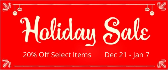 holiday sale 2017 BLOG