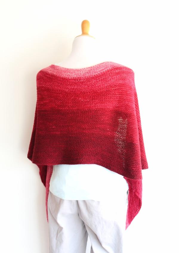 handmaiden scarf wrap back