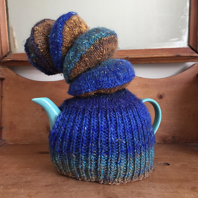 Noro Silk Garden Wood Fungus Tea Cozy.jpeg