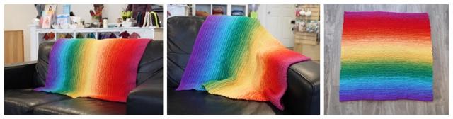 Ombre Baby Blanket COMBO
