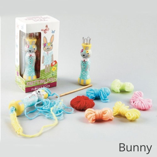 Floss & Rock Knitting Doll Bunny