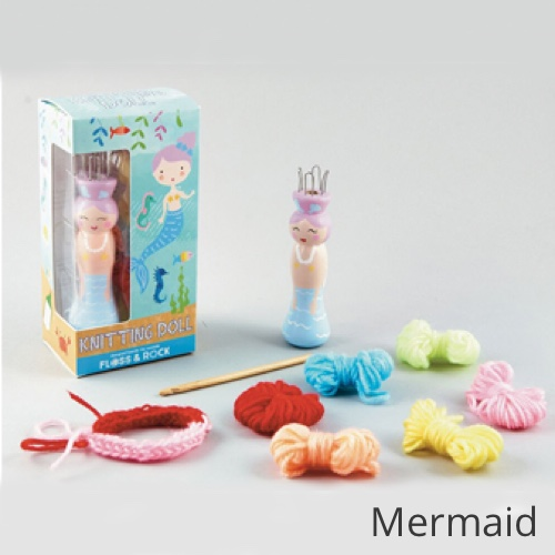 Floss & Rock Knitting Doll Mermaid