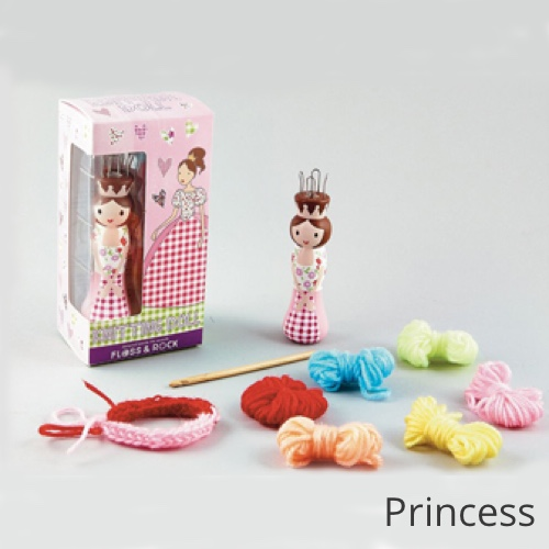 Floss & Rock Knitting Doll Princess