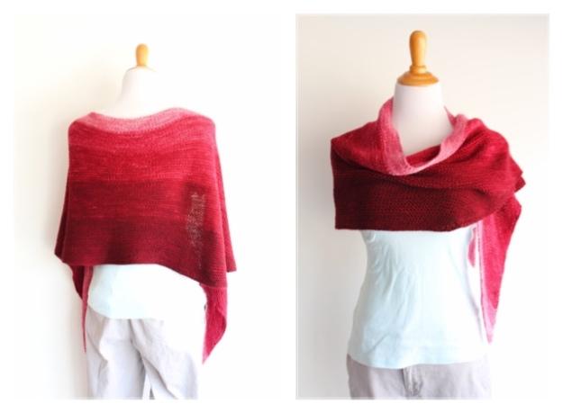 Handmaiden Casbah 5Ply Gradient Wrap Kit RED COMBO BLOG