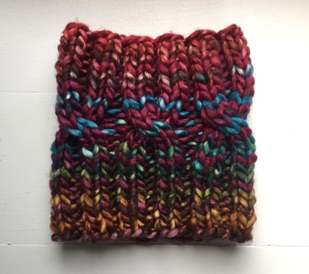Urth Uneek Chunky 1 skein cable cowl