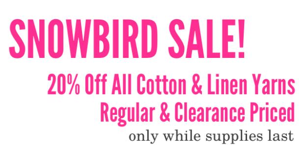 Snowbird Sale BLOG