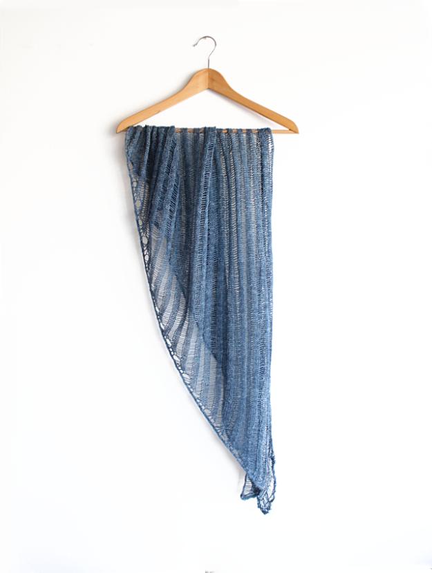 clapo-ktus shawl/wrap in handmaiden flyss